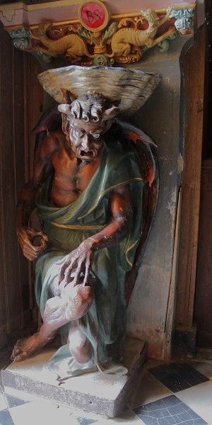 Asmodeus / Devil at Rennes-le-Chateau